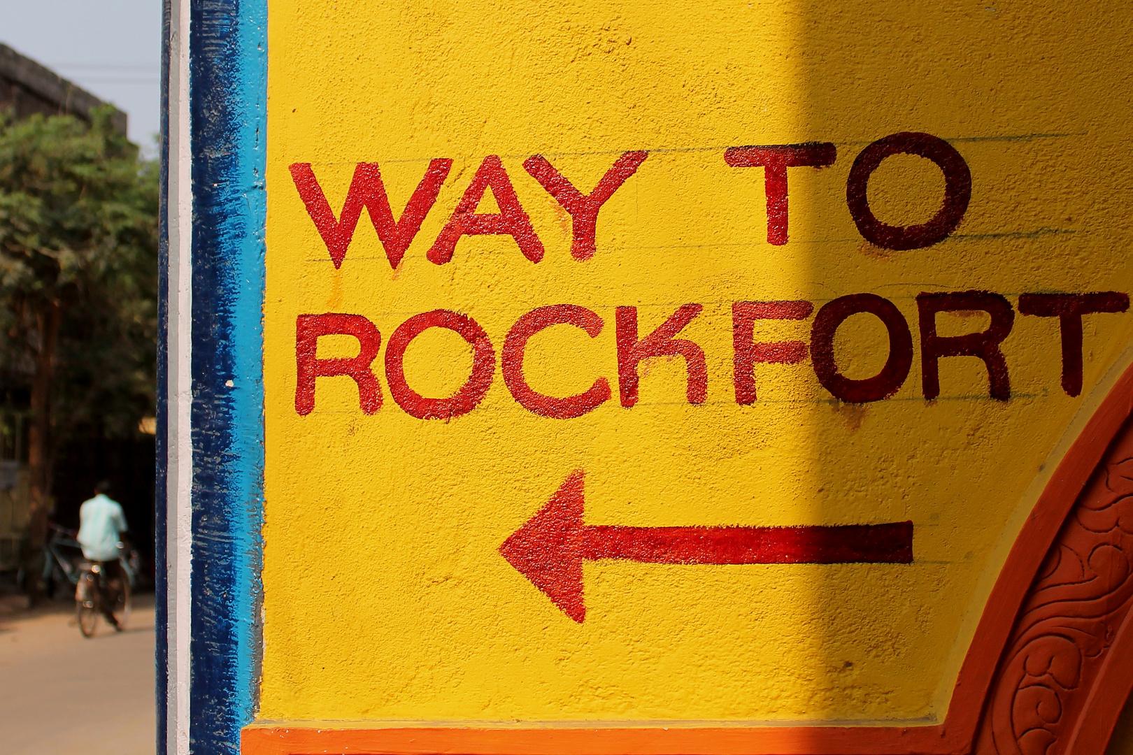 WAY TO ROCKFORT
