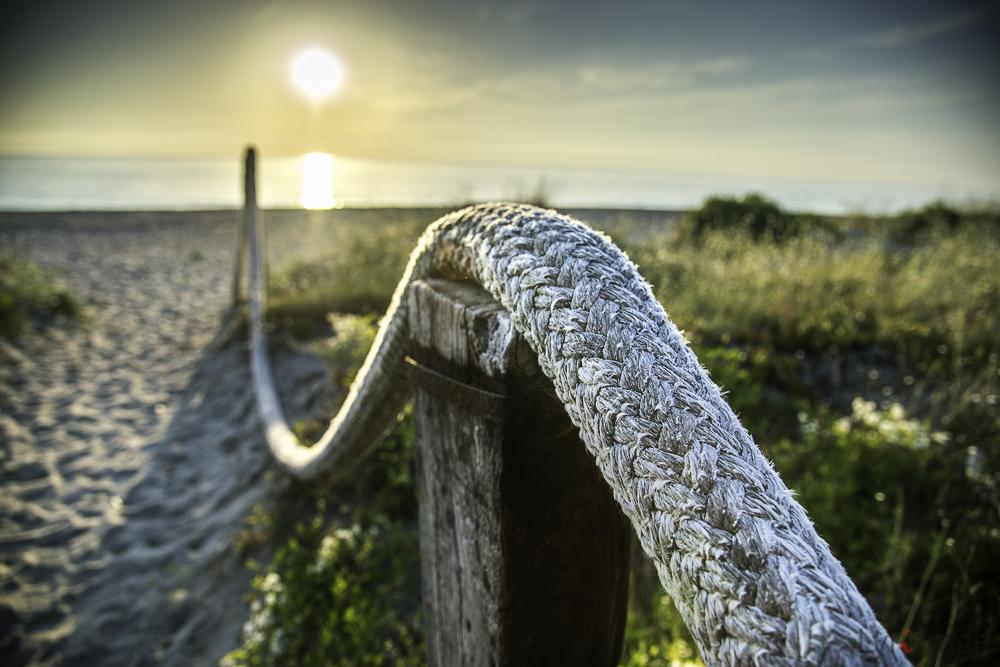 Way to the beach (Weg zum Strand)