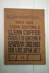 W.E. Diesseldorff Clean Coffee since 1888