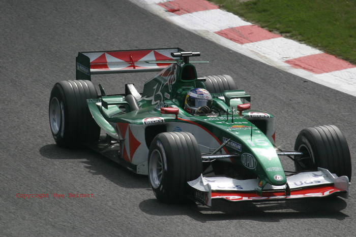 Webber in La Gombes/Spa 2004
