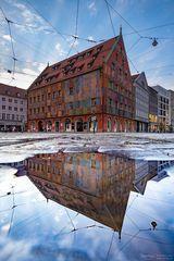 Weberhaus Spiegelung