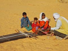 Webstuhl der Wüste
