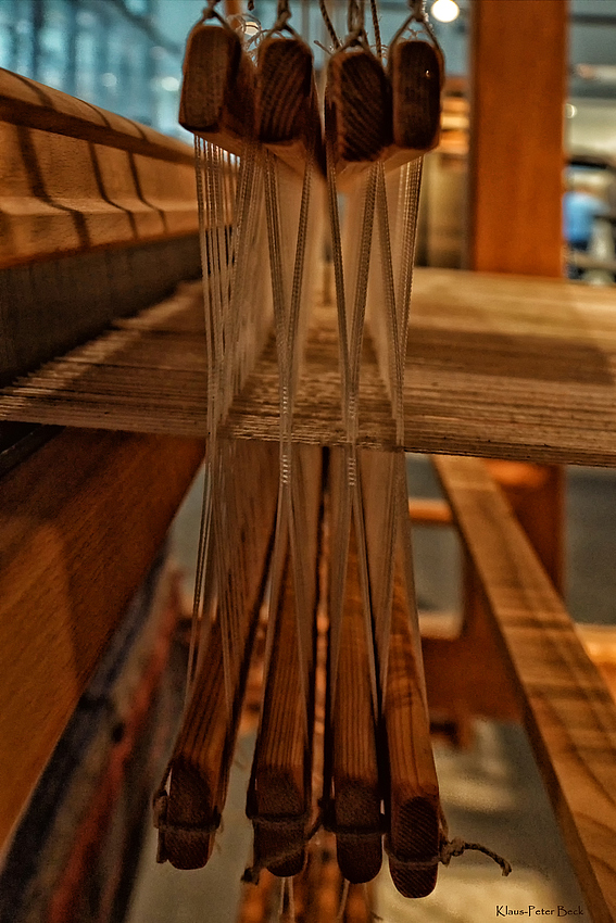 Webstuhl - Detail