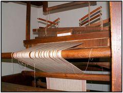Webstuhl im Freilichtmuseum Schwerin - Muess