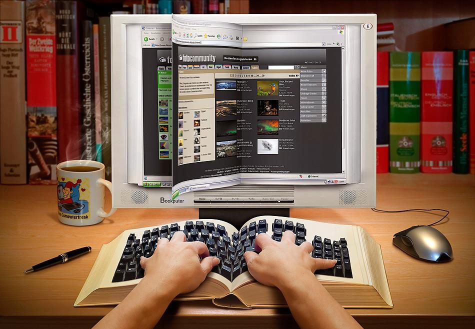 Websurfen mit dem Bookputer