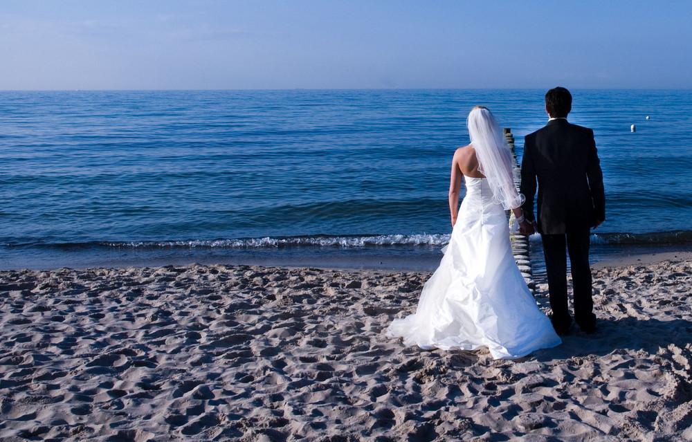 Wedding at the seaside