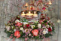 wedding candle light decoration