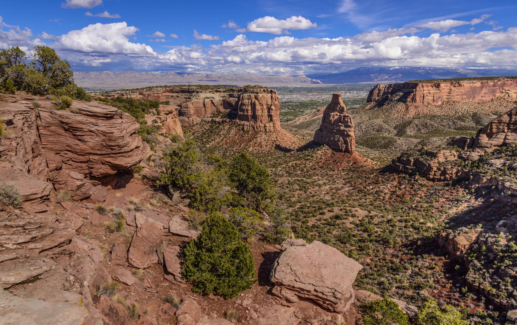 Wedding Canyon, Colorado NM, USA