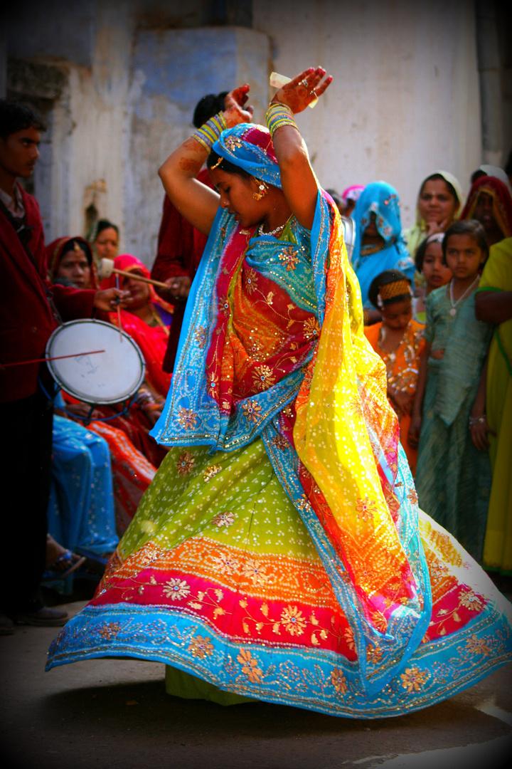 Wedding in colors