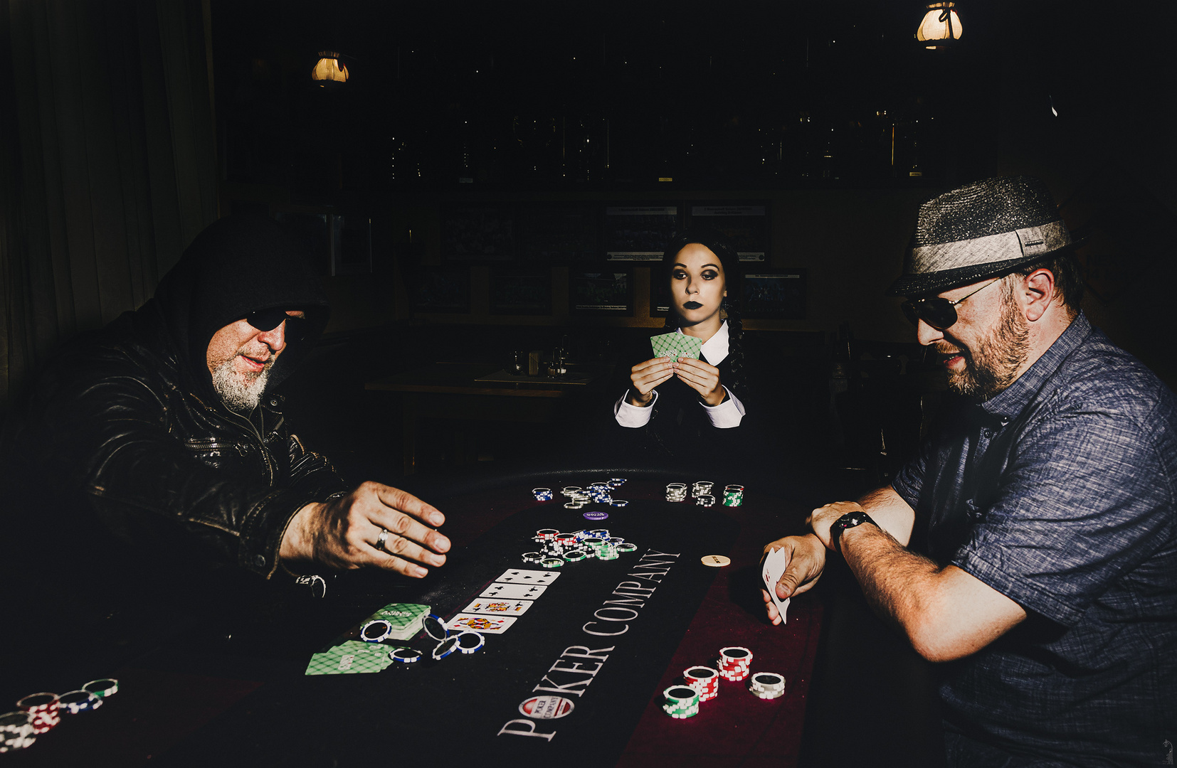 Wednesday Addams Poker Story °1/3