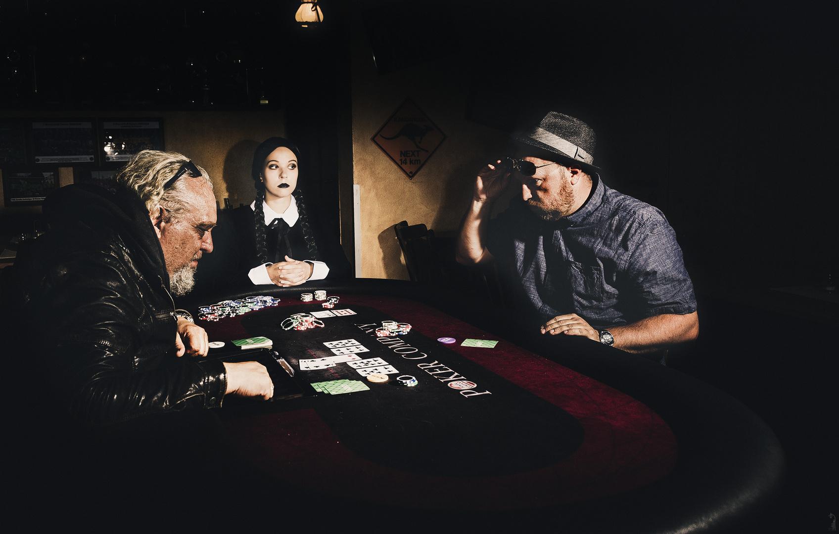 Wednesday Addams Poker Story °2/3