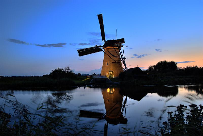 week of light Kinderdijk