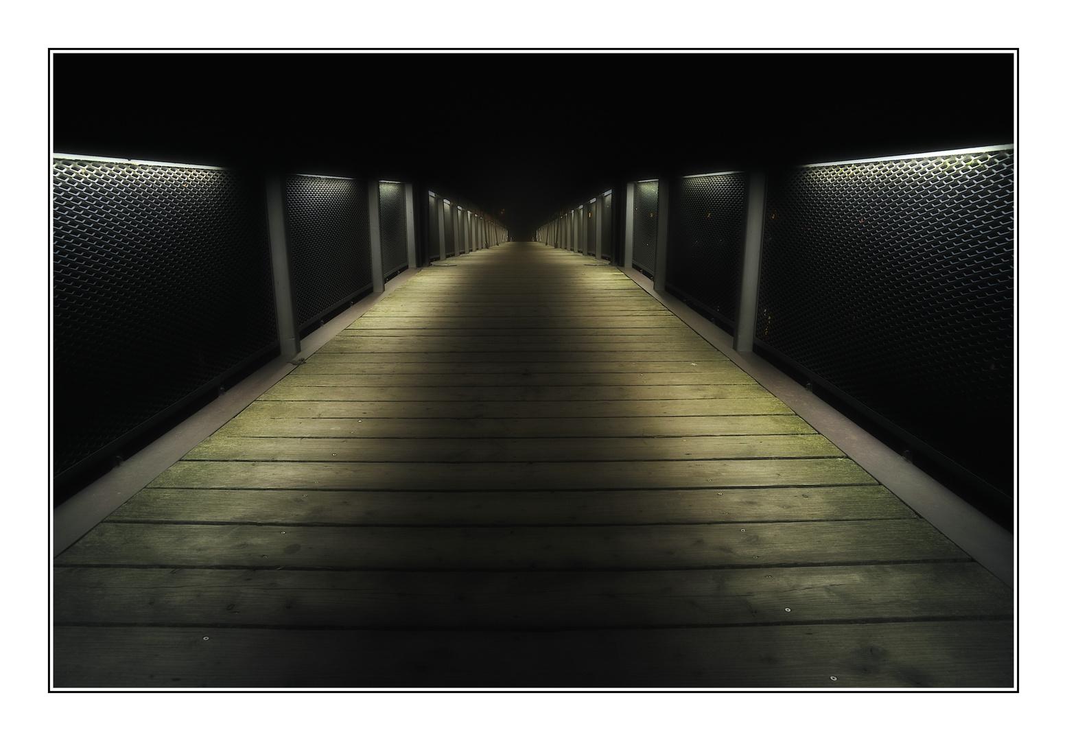 Weg in die Dunkelheit