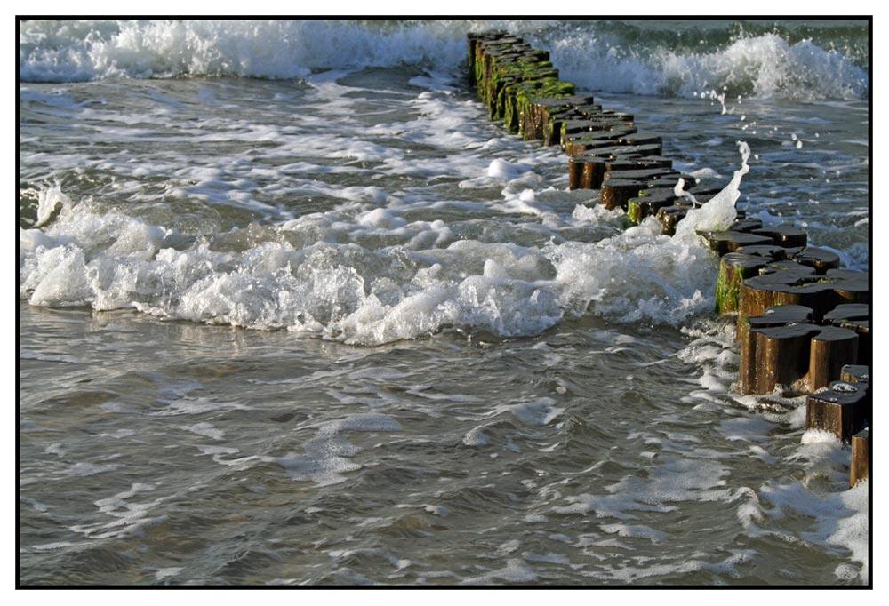 Weg ins Meer