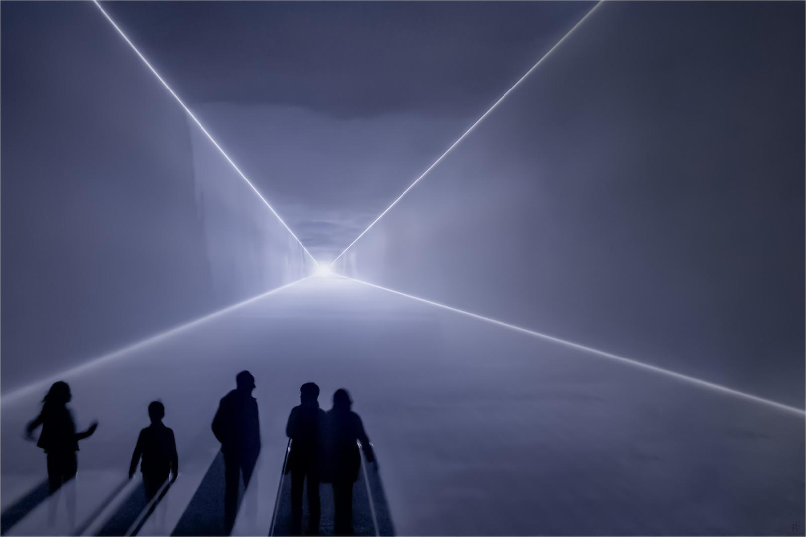 Weg ins Meer des Lichtes