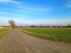 Weg nach Sachsenhagen