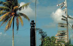 Weg-Orientierung in Nuku'alofa (Tongatapu)