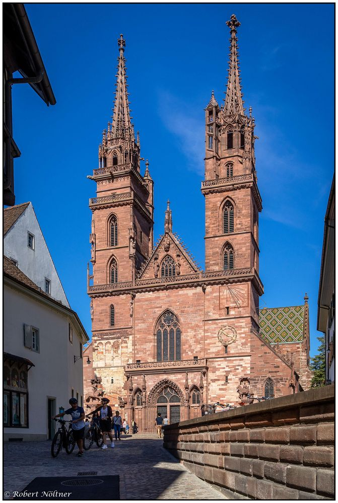Weg zum Münster