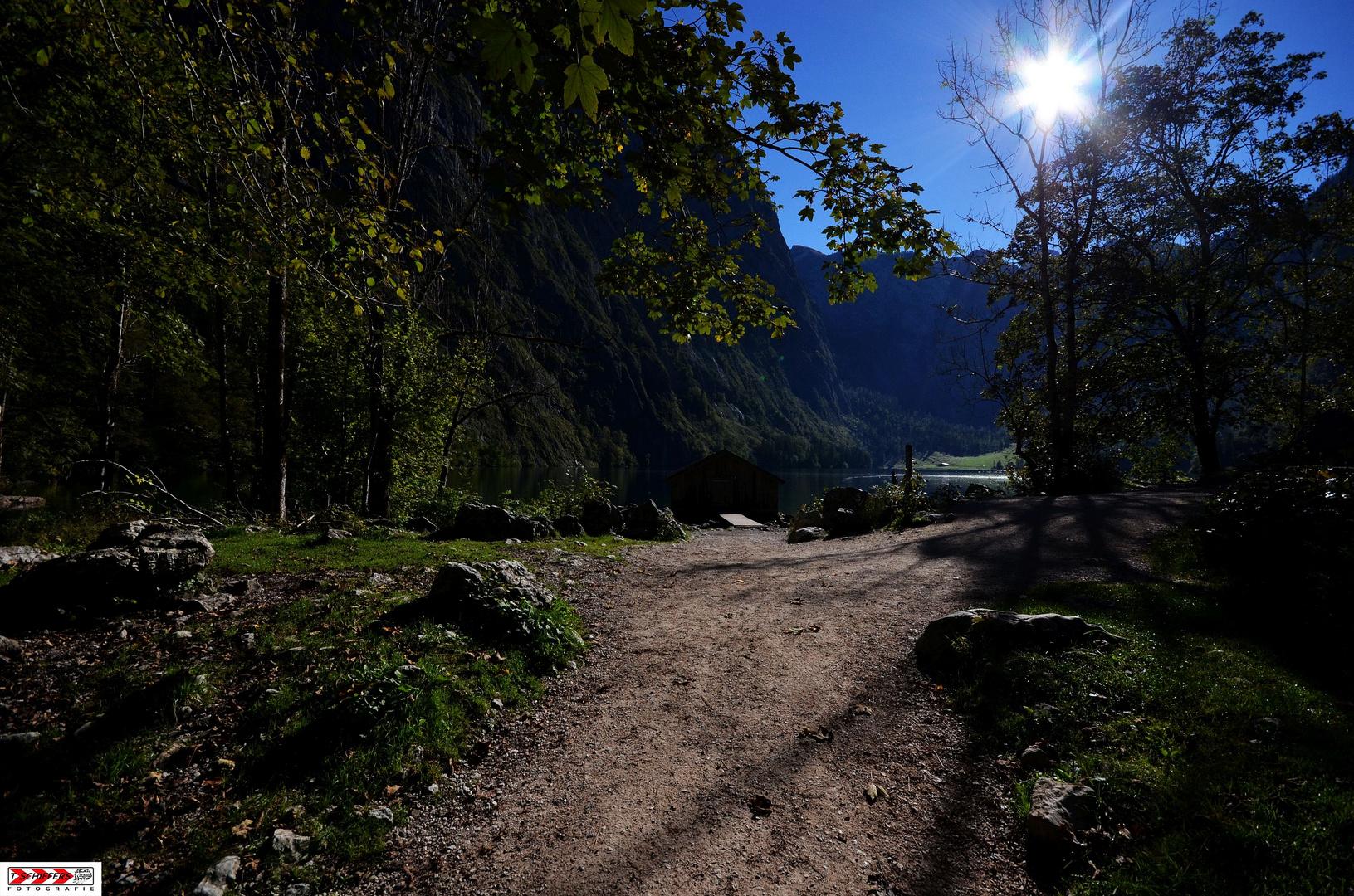 Weg zum Obersee