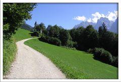 Weg zur Antoniuskapelle