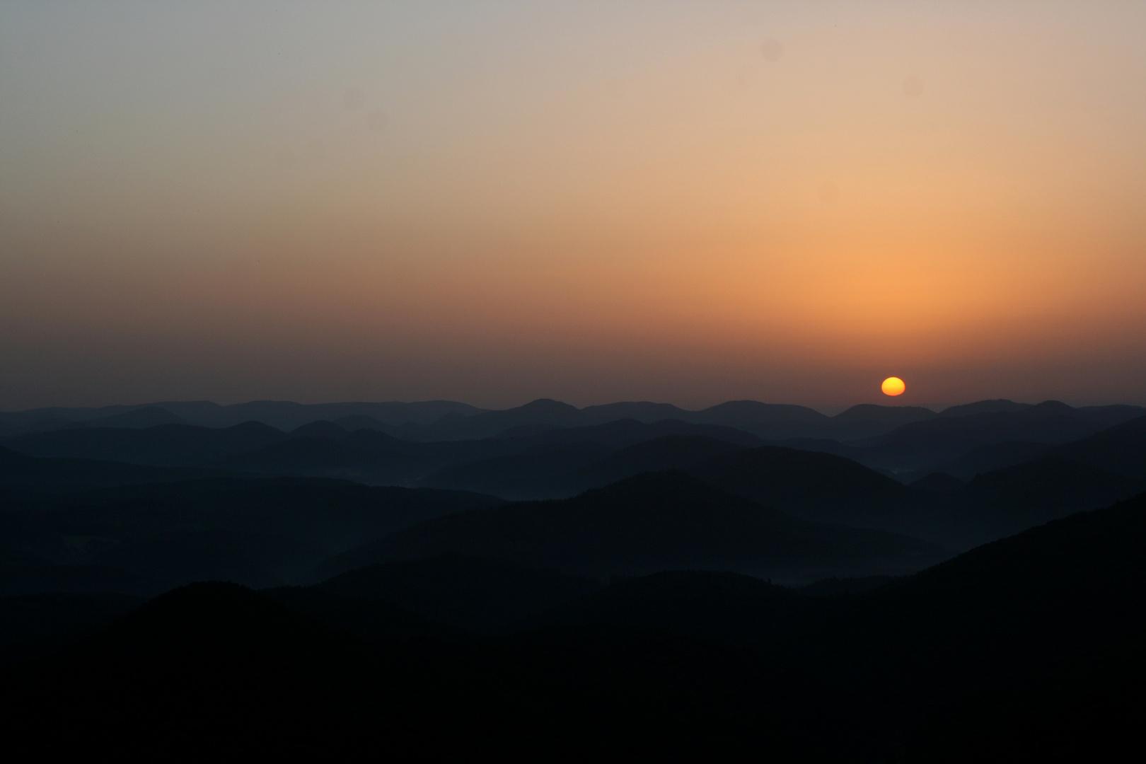 Wegelnburg Sonnenaufgang