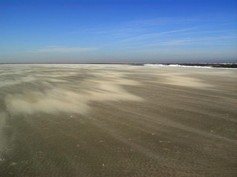 wehender Sand