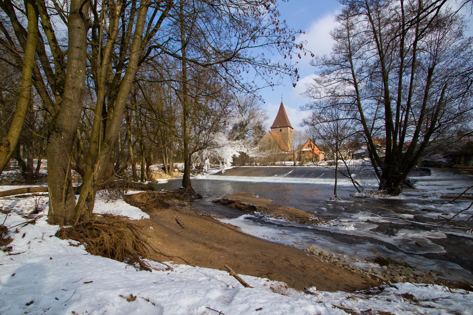 Wehrkirche Katzwang Winterimpressionen 2012 (4)
