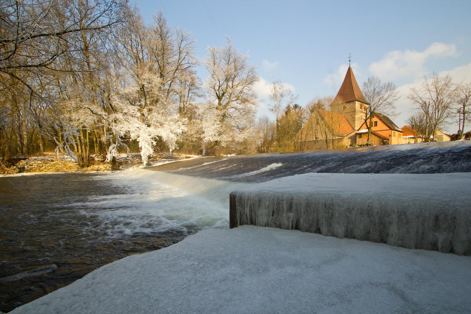 Wehrkirche Katzwang Winterimpressionen 2012 (7)