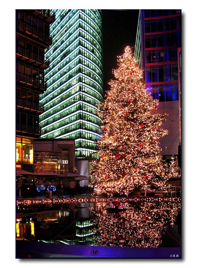 Weihnachstsstimmung am Potsdamer Platz