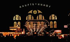 Weihnachten am Hauptbahnhof