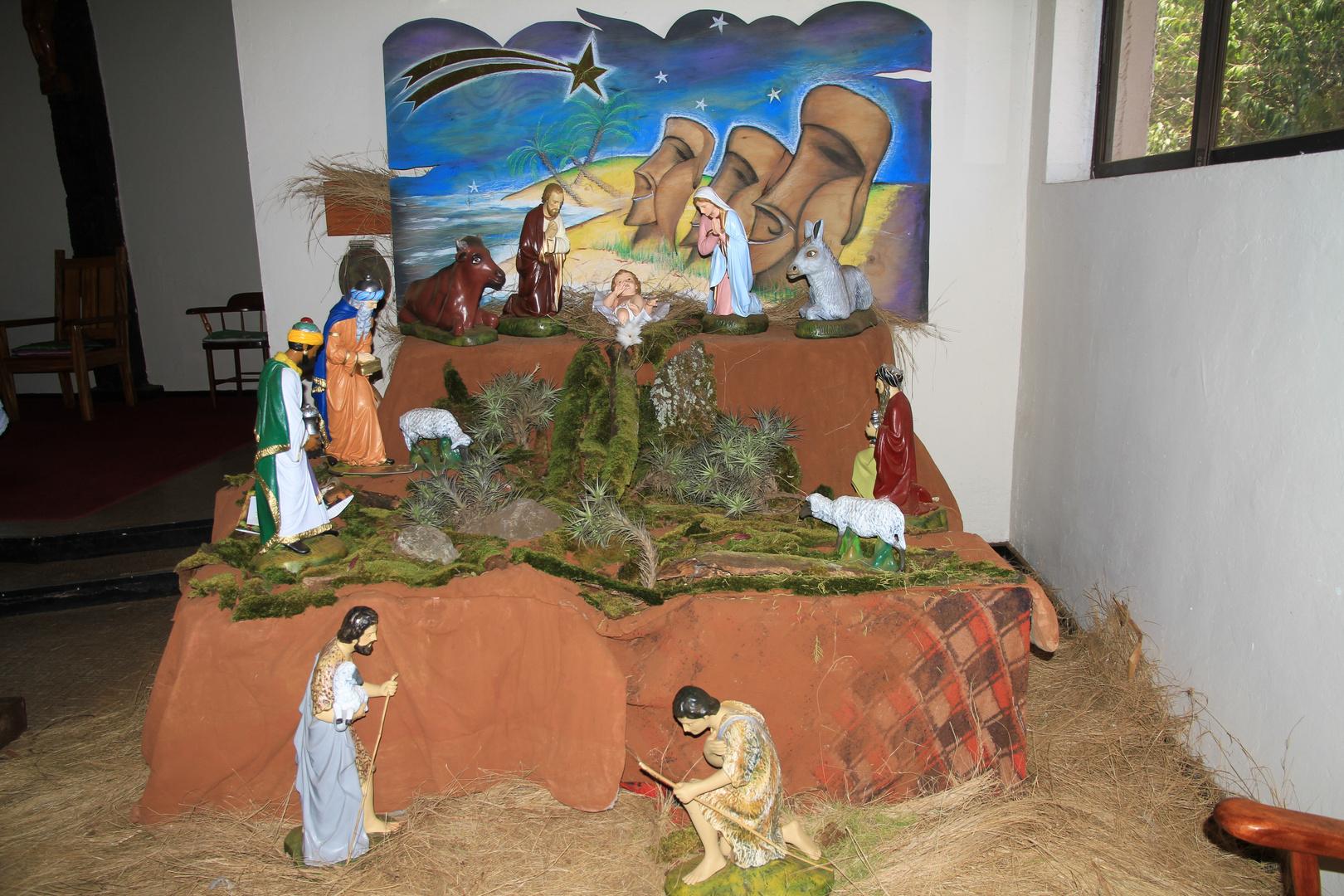 Weihnachten auf der Osterinsel