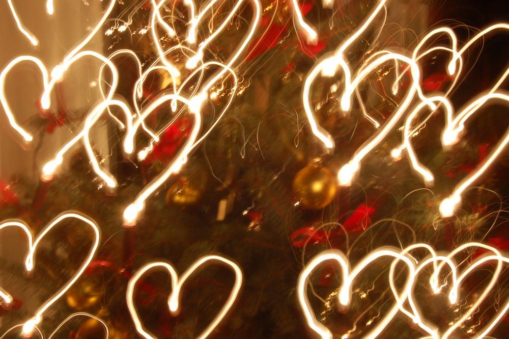 Weihnachten Das Fest Der Liebe Foto Bild Abstraktes Formen