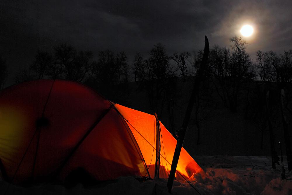 Weihnachten im Zelt