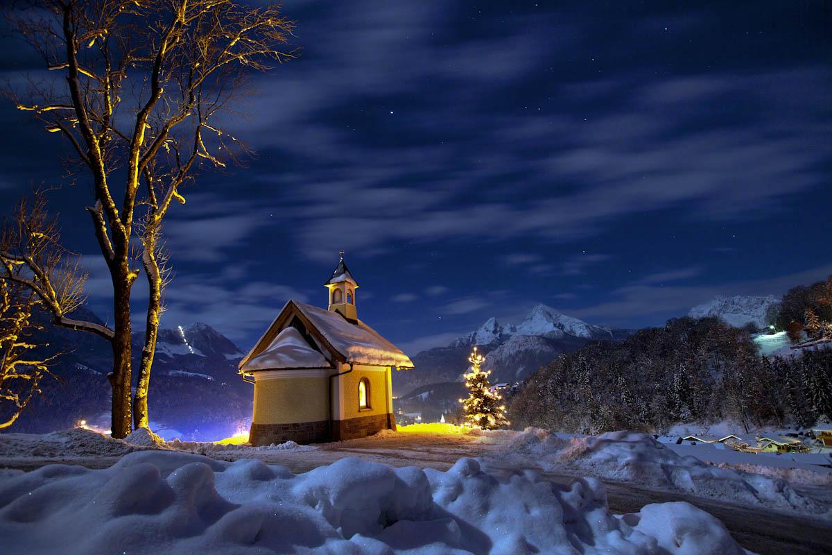 weihnachten in berchtesgaden foto bild jahreszeiten. Black Bedroom Furniture Sets. Home Design Ideas