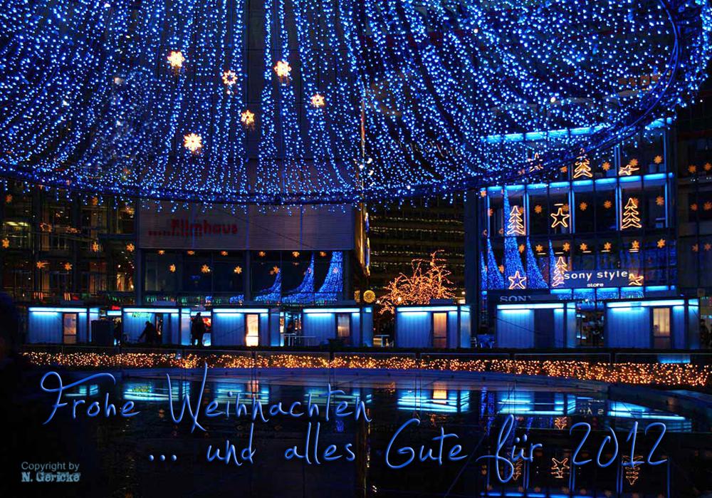 Weihnachtsgrüße Aus Berlin.Weihnachten In Berlin Foto Bild Gratulation Und Feiertage