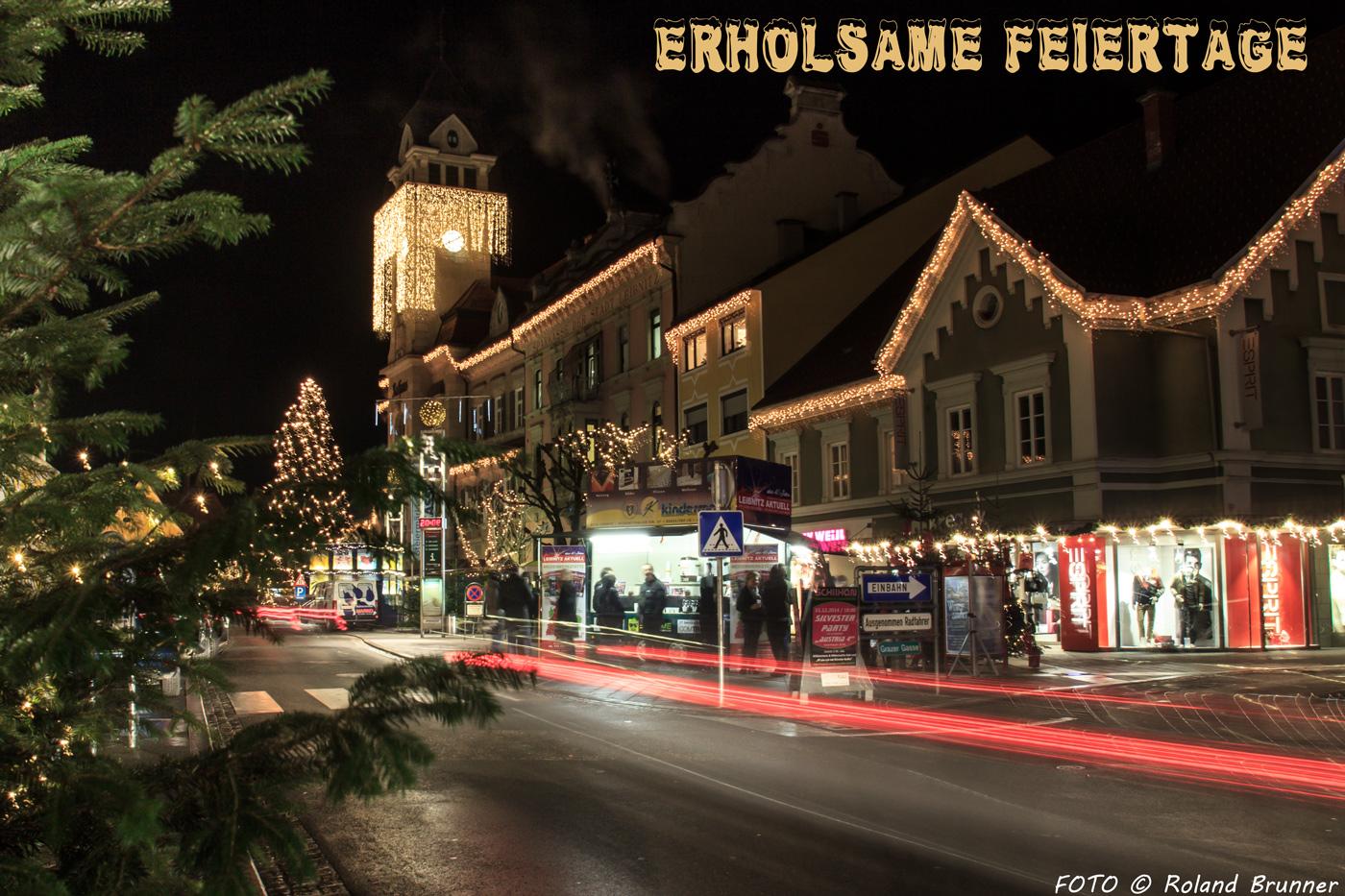 Weihnachten In Leibnitz