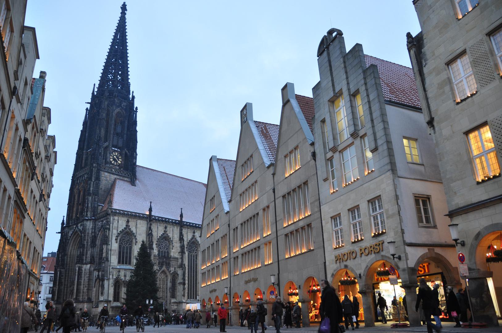 weihnachten in m nster foto bild deutschland europe. Black Bedroom Furniture Sets. Home Design Ideas