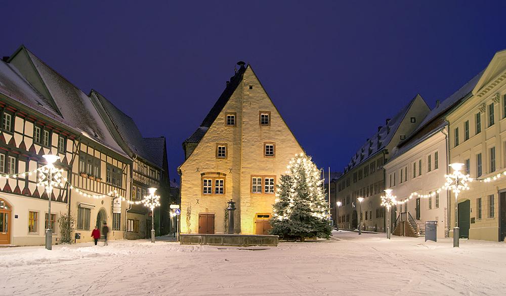 Weihnachten in Sangerhausen