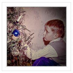 Weihnachten um 1960