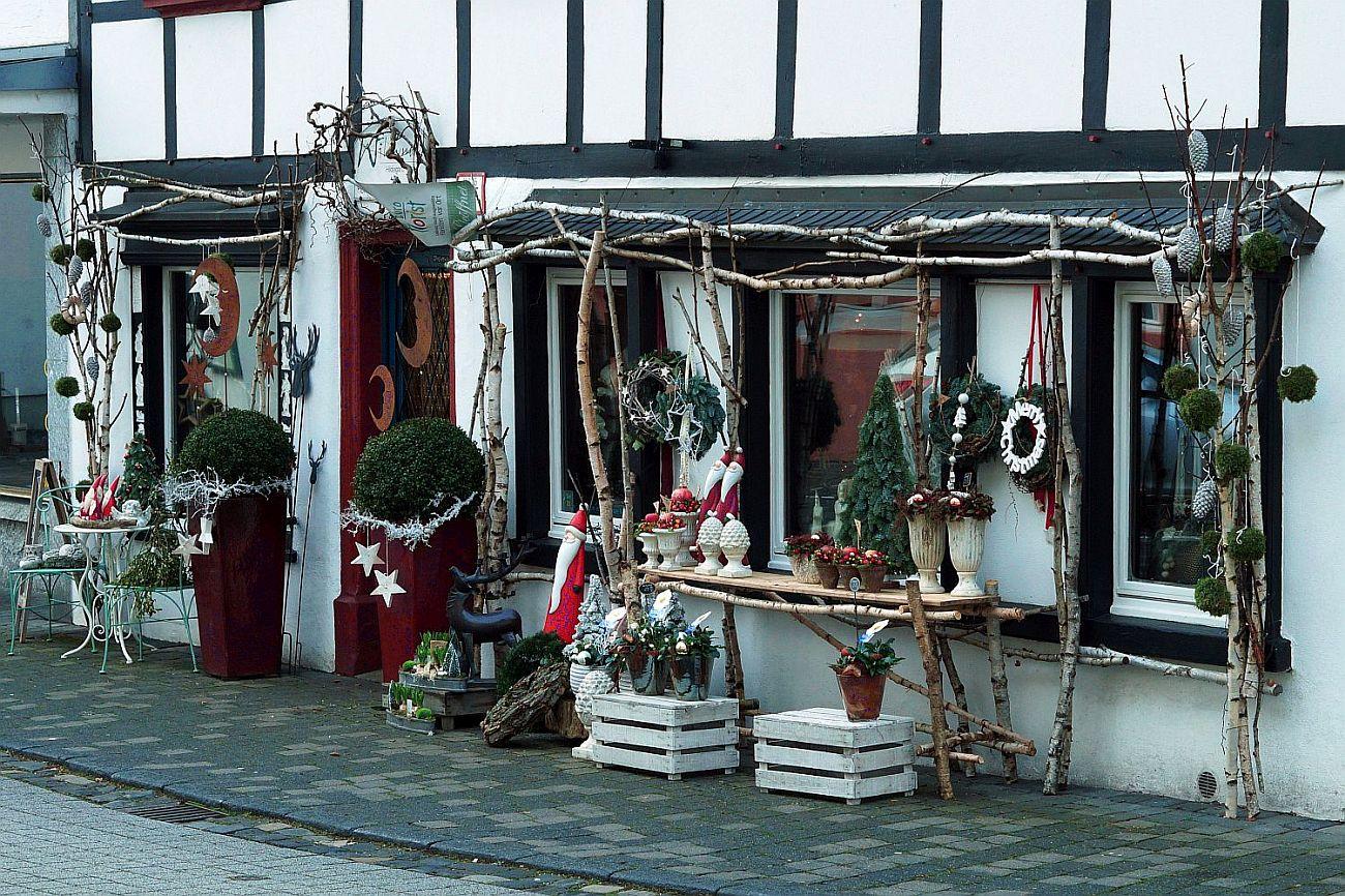 Weihnachten vor der Tür