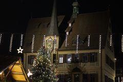 Weihnachtliche Grüße aus Bietigheim mit tiefsinnigen Beiträgen
