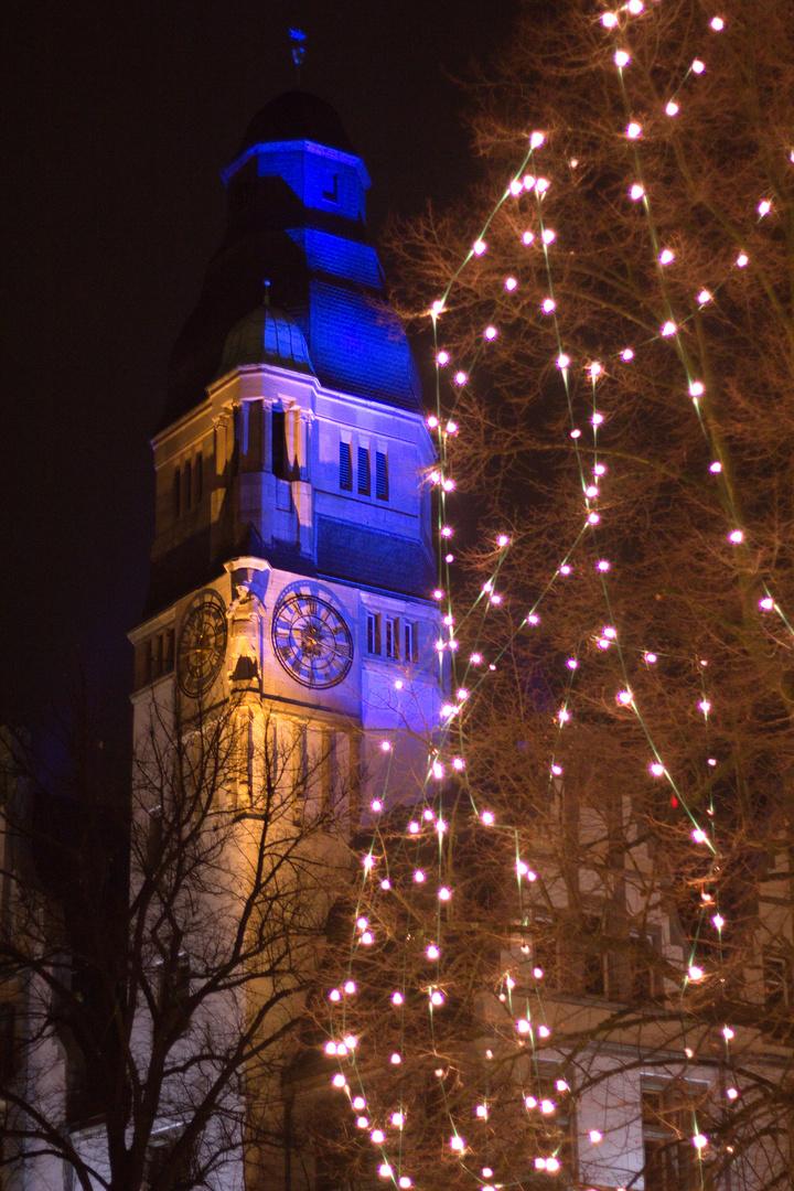 Weihnachtliche Impression aus Gladbeck