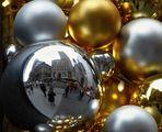 weihnachtliche Spiegelung