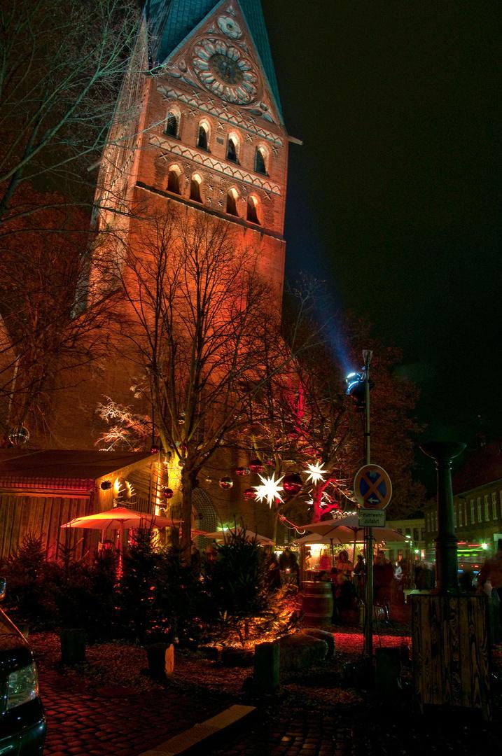 weihnachtliche Stimmung in Lüneburg....