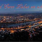 Weihnachtlicher Gruß aus Trier