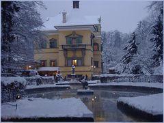Weihnachtliches Schloss Hellbrunn