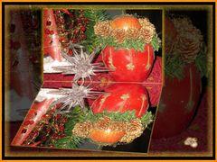 * Weihnachts- Freuden widergespiegelt *