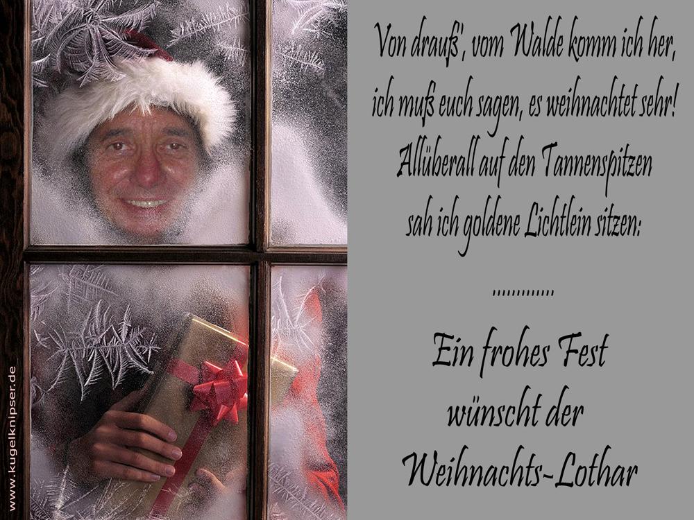 Weihnachts-Lothar :-))