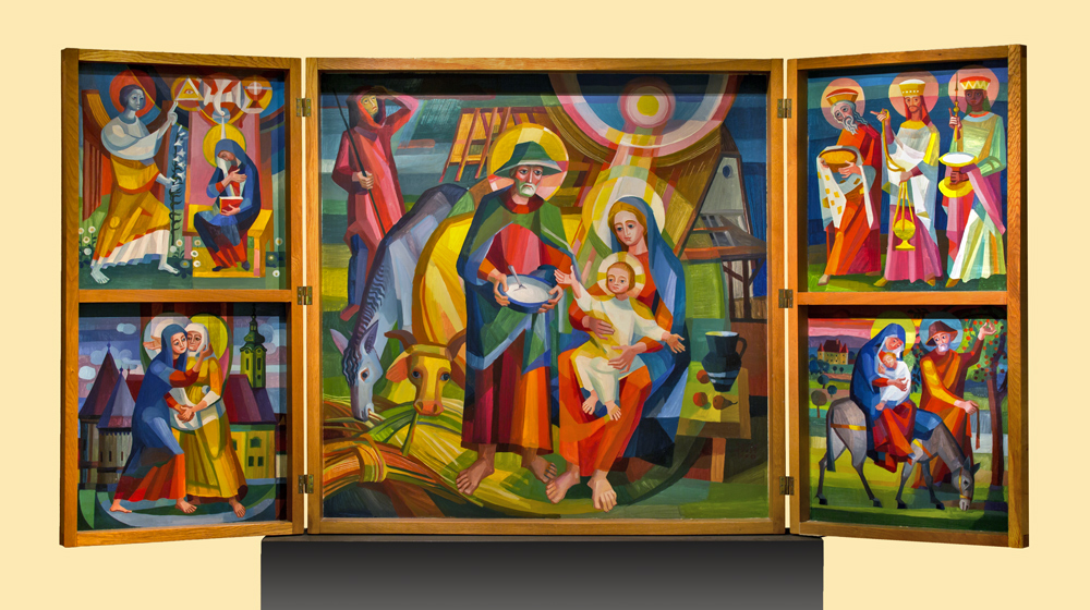 Weihnachtsaltar von Franz Weiß (1970)