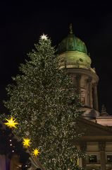 Weihnachtsbaum am Gendarmenmarkt